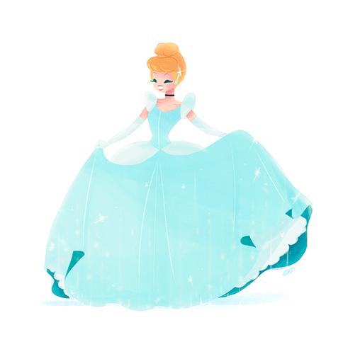 Cinderella - disney-females Fan Art