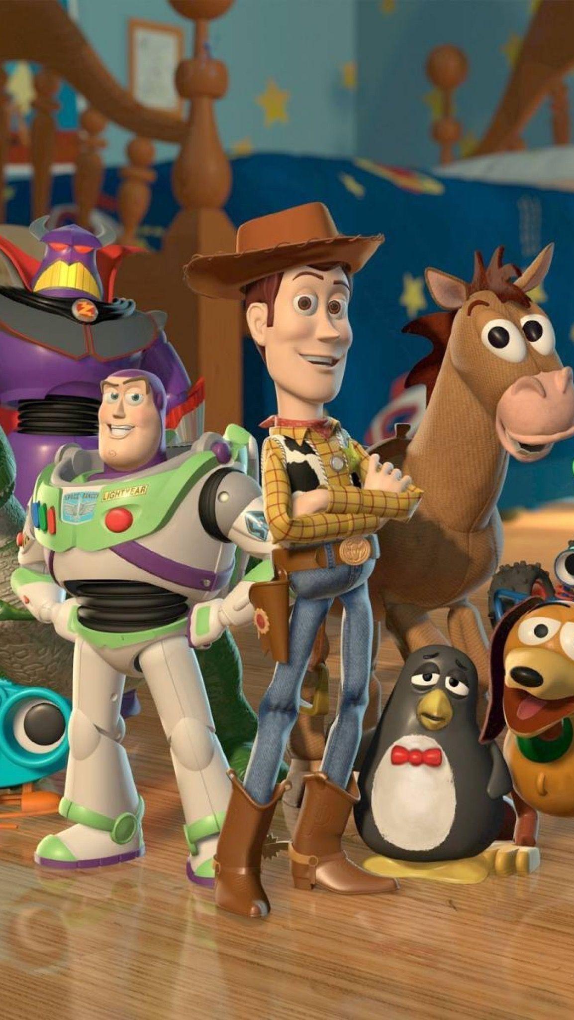 Toy Story 2 Wallpaper de desenhos animados, Papel de