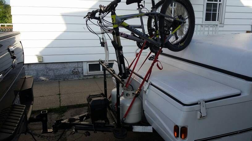 Has Anyone Used Solely Alumninum Tube And Angle To Make Their Pro Rack Bike Rack Bike Rack Erector Set Bike