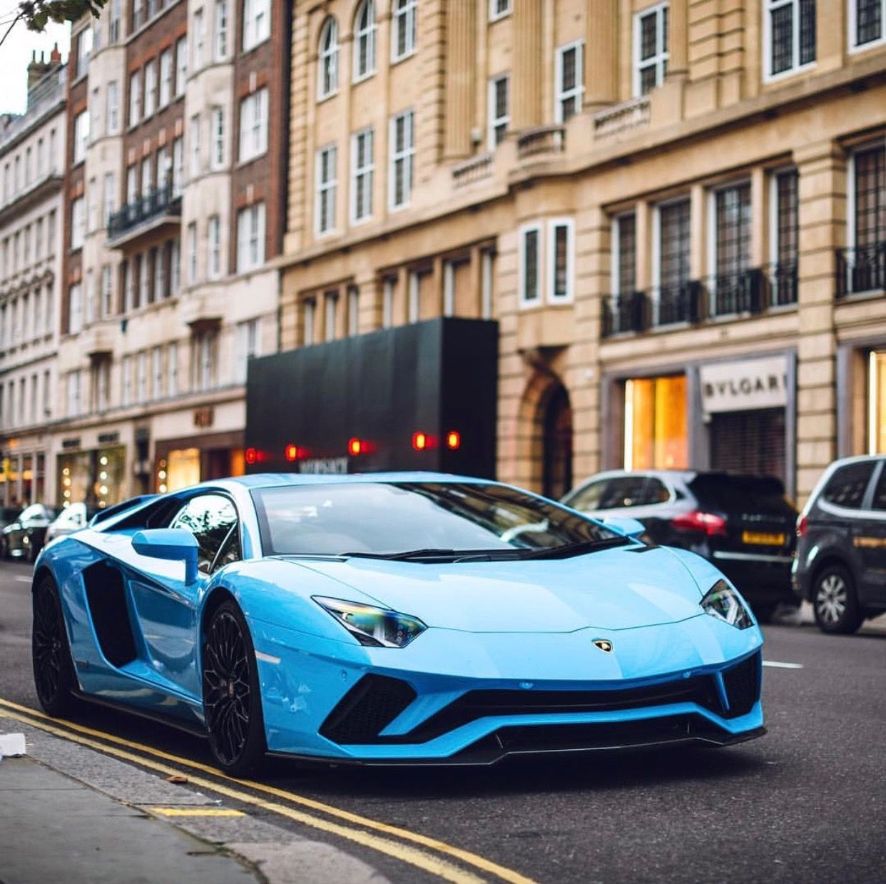 Bon Lamborghini Aventador S Painted In Blu Cepheus Photo Taken By: @tfjj On  Instagram · Sports Car PhotosLux ...