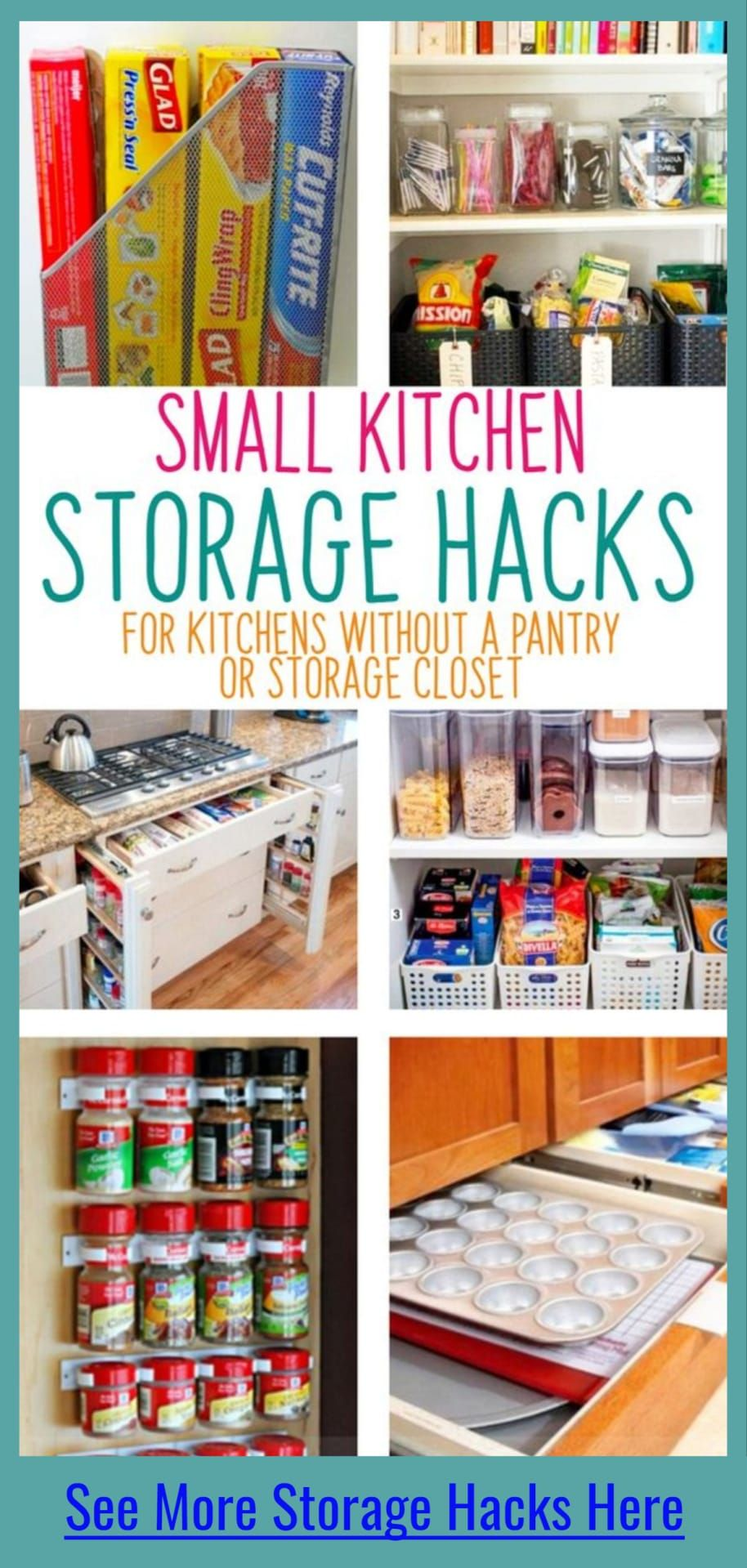 Small Apartment Kitchen Storage Ideas That Won T Risk Your Deposit Small Kitchen Hacks Small Kitchen Storage Storage Solutions Diy