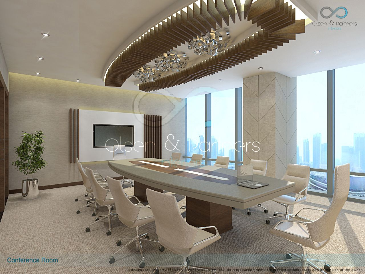 Design and fitout by Olsen & Partners Interiors Dubai -UAE www ...