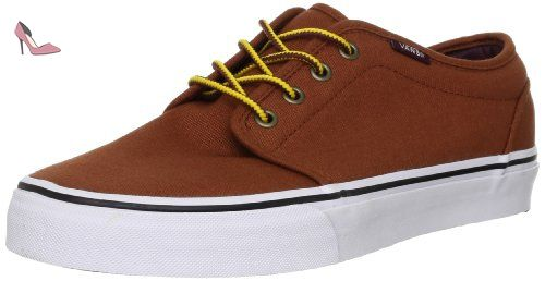 Vans U 106 Vulcanized, Baskets mode mixte adulte Marron (Earthtone Gin) 35  EU