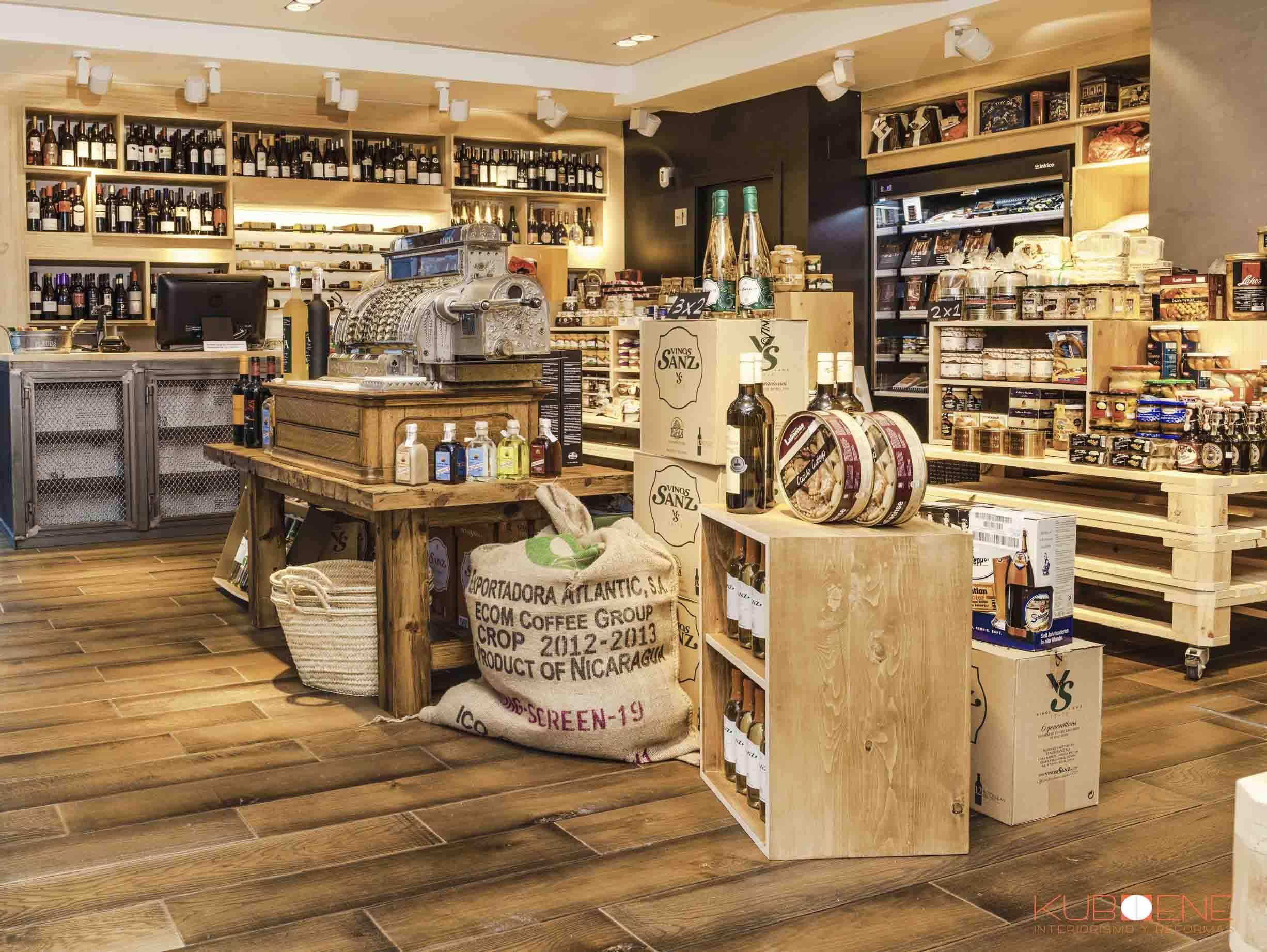 Abarrotes, tienda de productos Gourmet By Kuboene. Interiorista ...