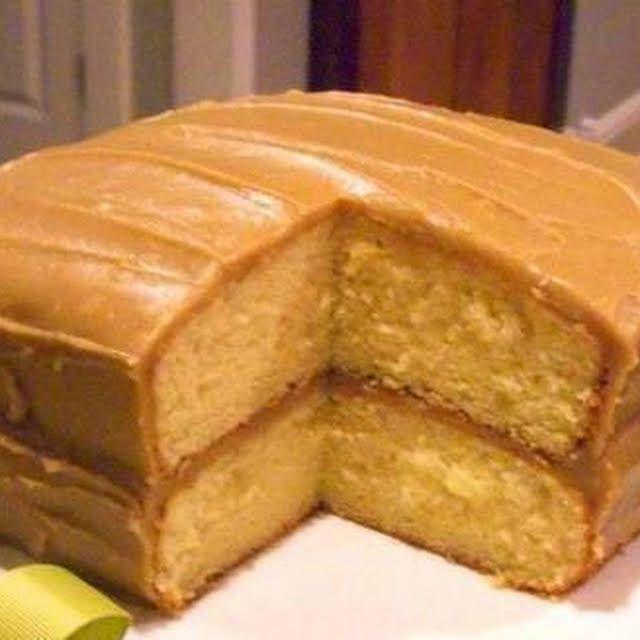 Caramel Cake With Butter Sugar Eggs All Purpose Flour Salt Baking Powder Whole Milk Vanilla Bu Southern Caramel Cake Caramel Cake Southern Praline Cake