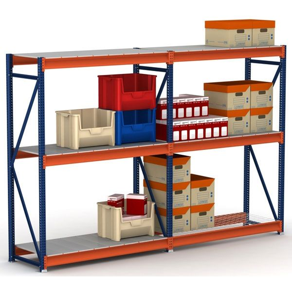 Abazar Shelving Pallet racking is a storage system for pallets that used  extensively in warehouses and producing facilities. The racks are made fro