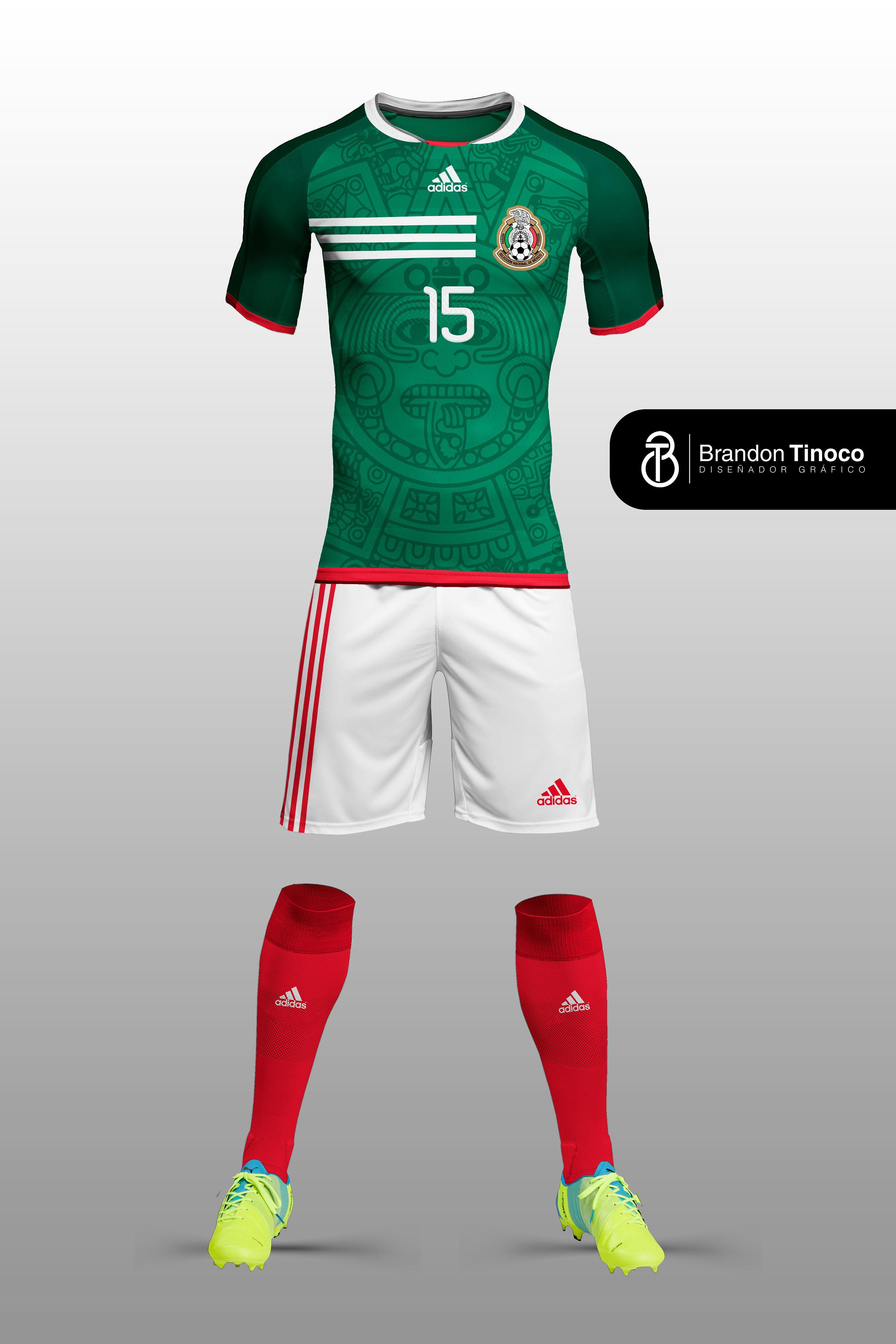 69e0c1a57 Mexico International Soccer Kit (Concept Art) on Behance ...