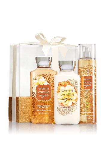 Signature Collection Warm Vanilla Sugar Wrapped With A Bow Gift