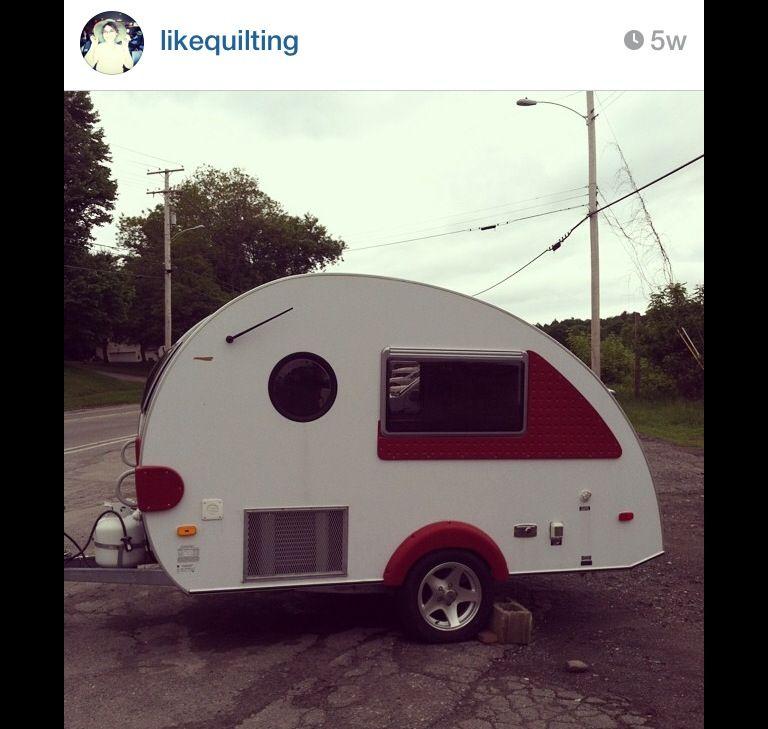 This darling vintage teardrop camper is FOR SALE in Maine ...