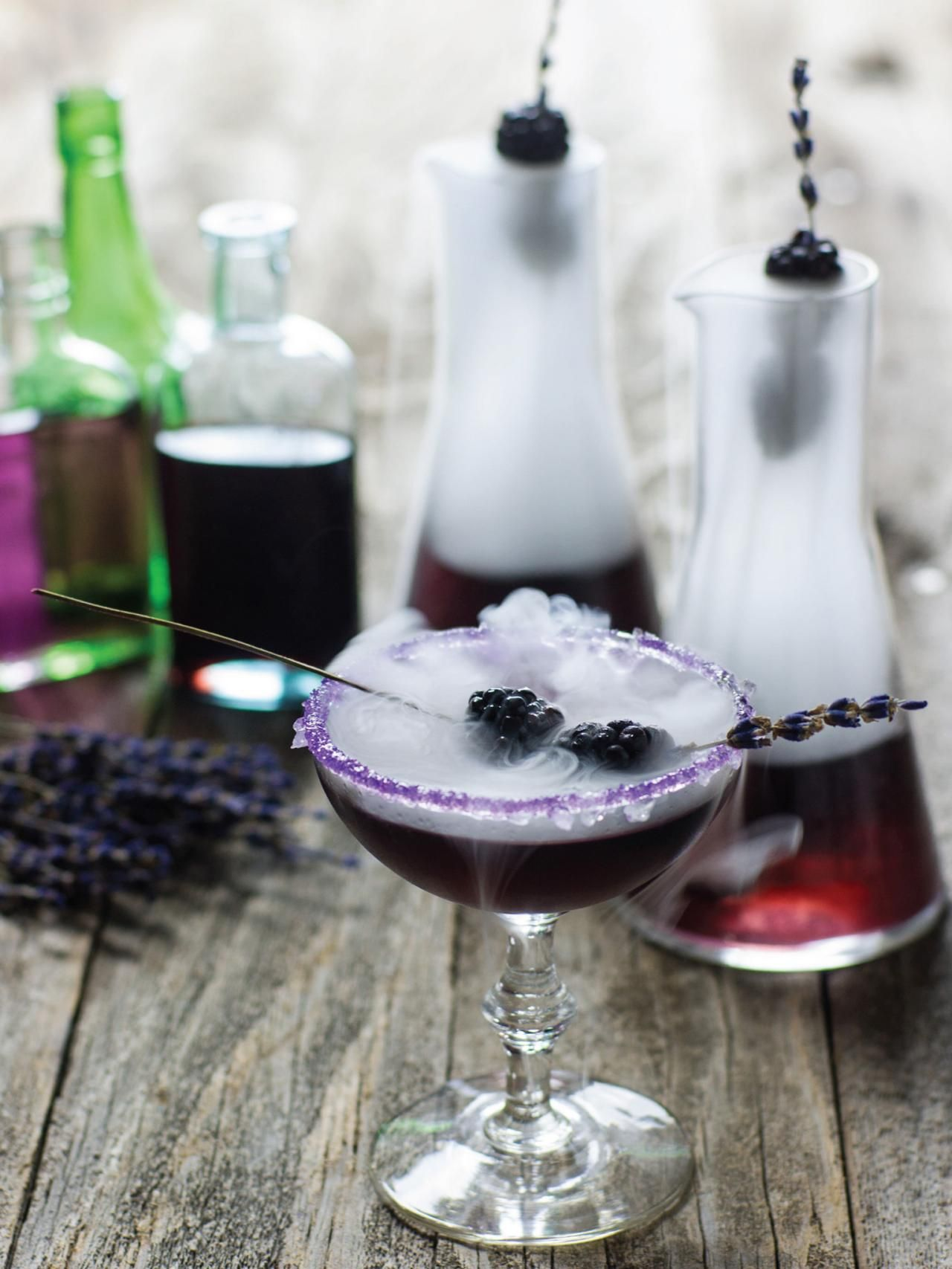 Witches' Brew Halloween Cocktail Recipe | Cocktail martini ...