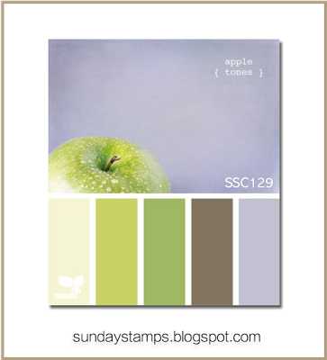 Sunday Stamps... Weekly Challenge: SSC129 Working With Color