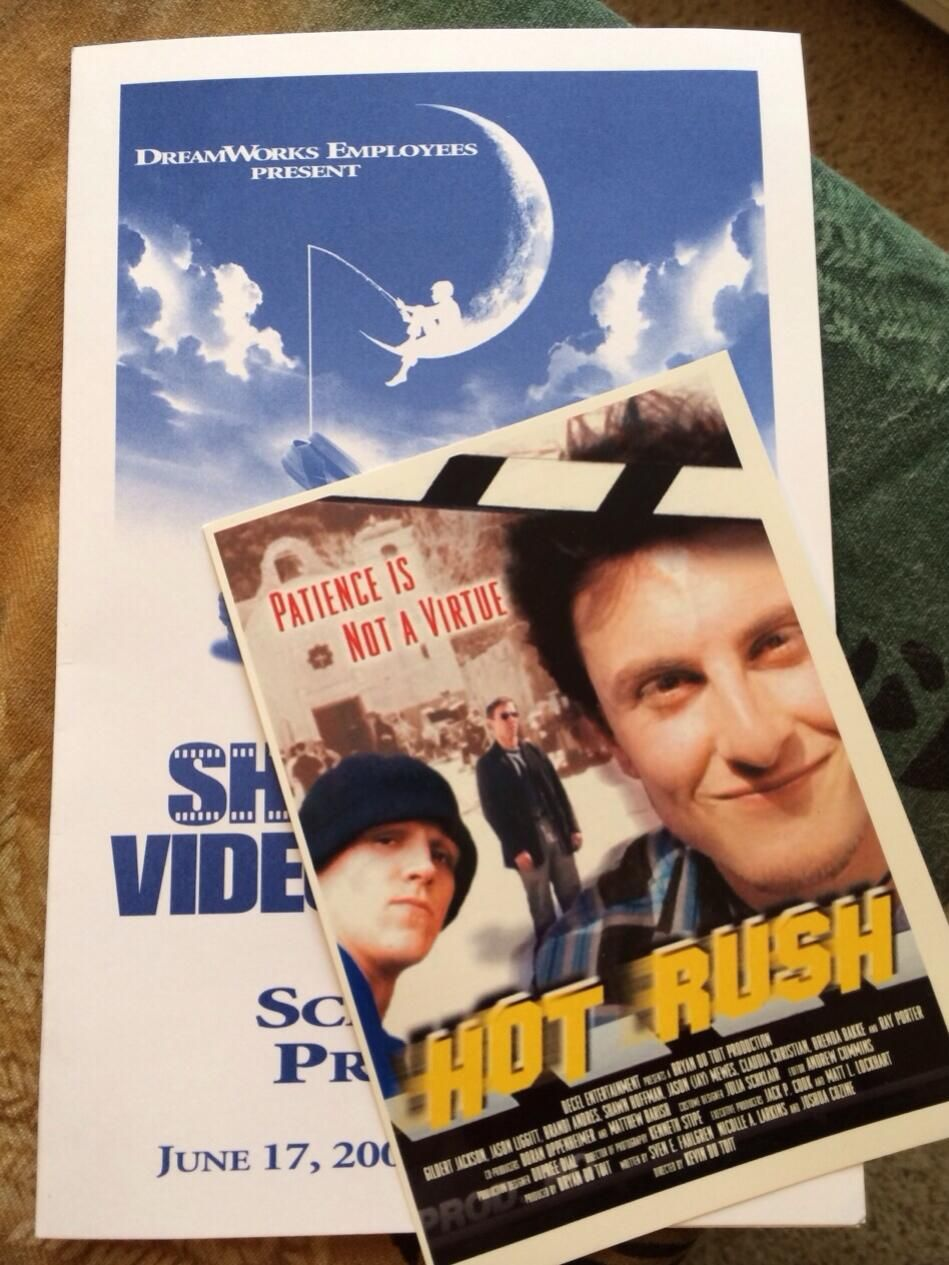 My first 35mm Film 'Hot Rush' I Directed at DreamWorks, it's motivating me for my 1st shoot in development this year.
