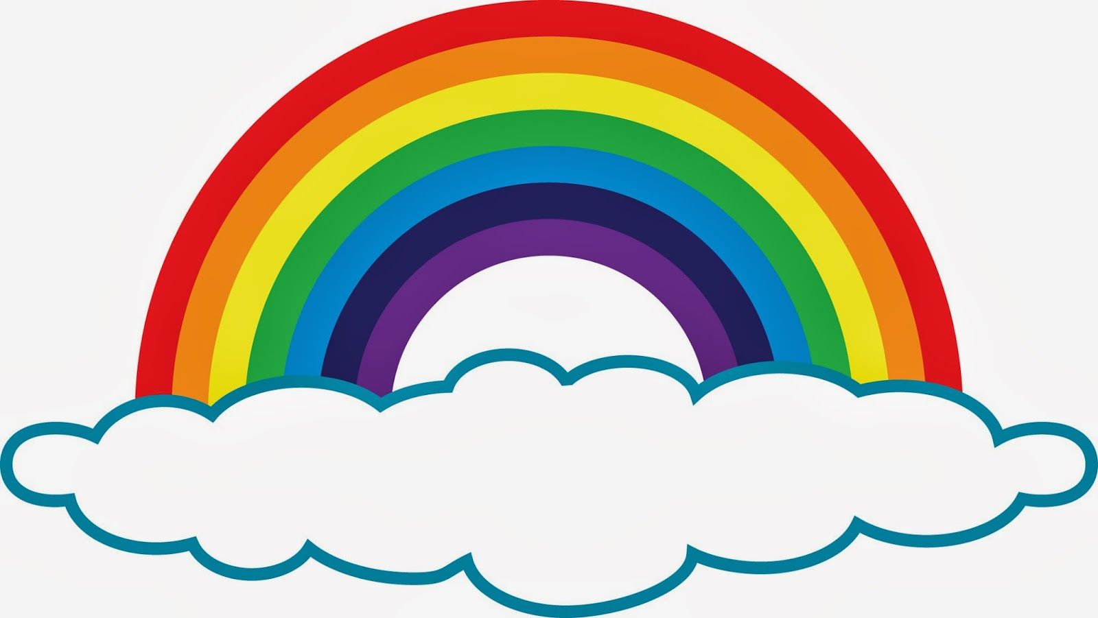 rainbow clip art | Rainbow Clip Art (With images) | Rainbow ...