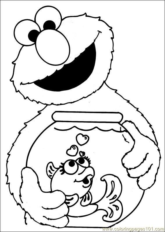 Elmo And Dorothy Sesame Street Coloring Pages See The Category To