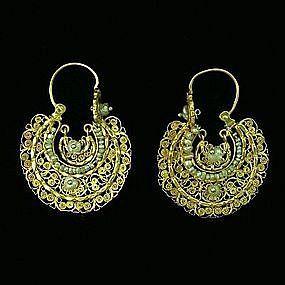 Arracadas Traditional Mexican Earrings