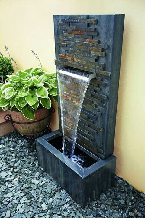 Make Indoor Fountain At Home How to make a zen garden water features fountain and water fuente moderna workwithnaturefo