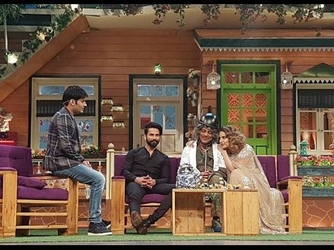 The Kapil Sharma Show A sassy Kangana Ranaut and Kapils jokes are entertaining while Shahid Kapoor