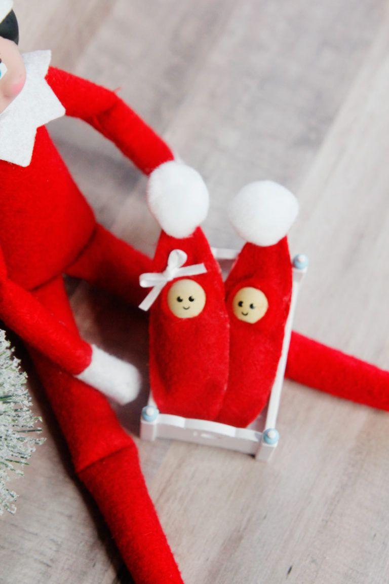 How To Make A Baby Elf On The Shelf Super Easy Xmas Elf Elf