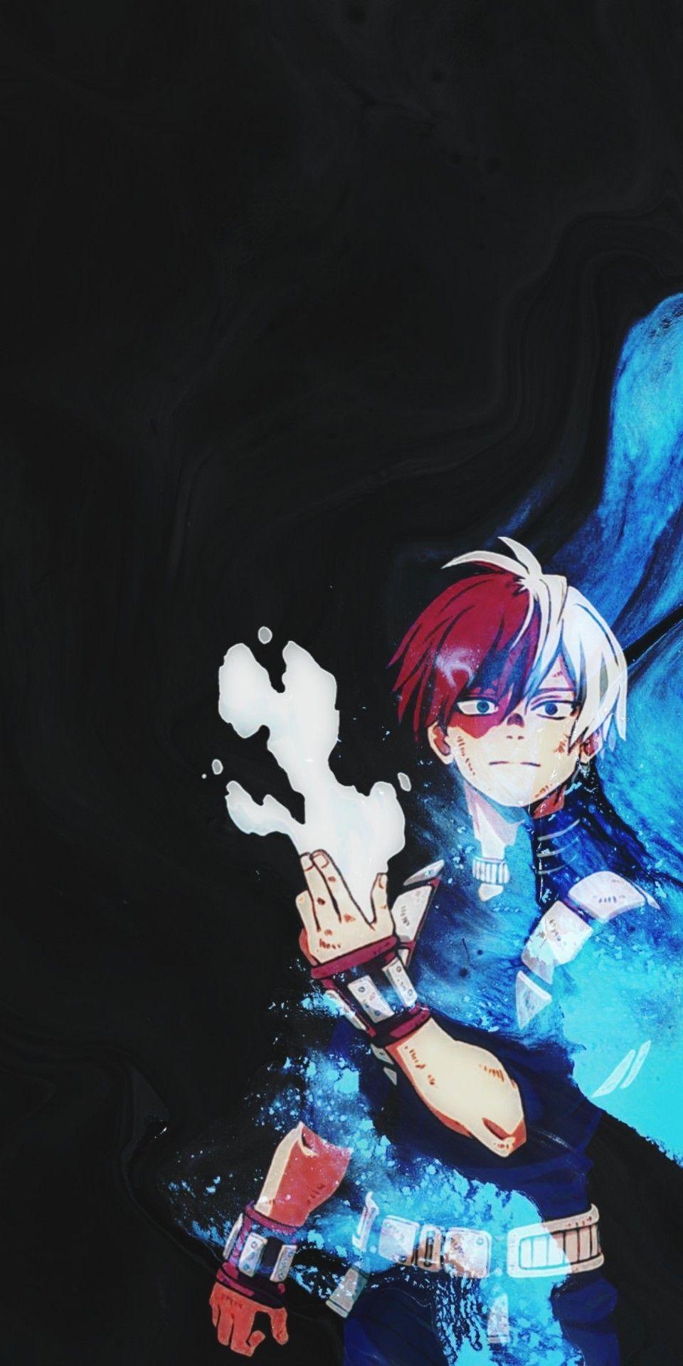 Todoroki Wallpaper In 2020 Hero Wallpaper Anime Boyfriend Anime