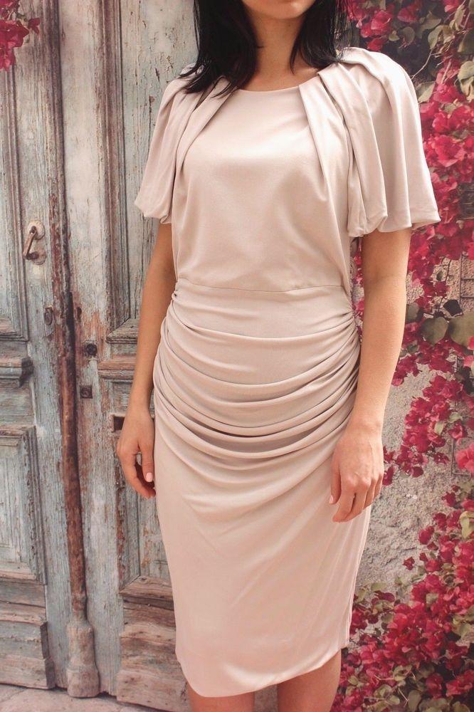 Bebe Raglan Short Sleeve Bodycon Dress in White   Lyst