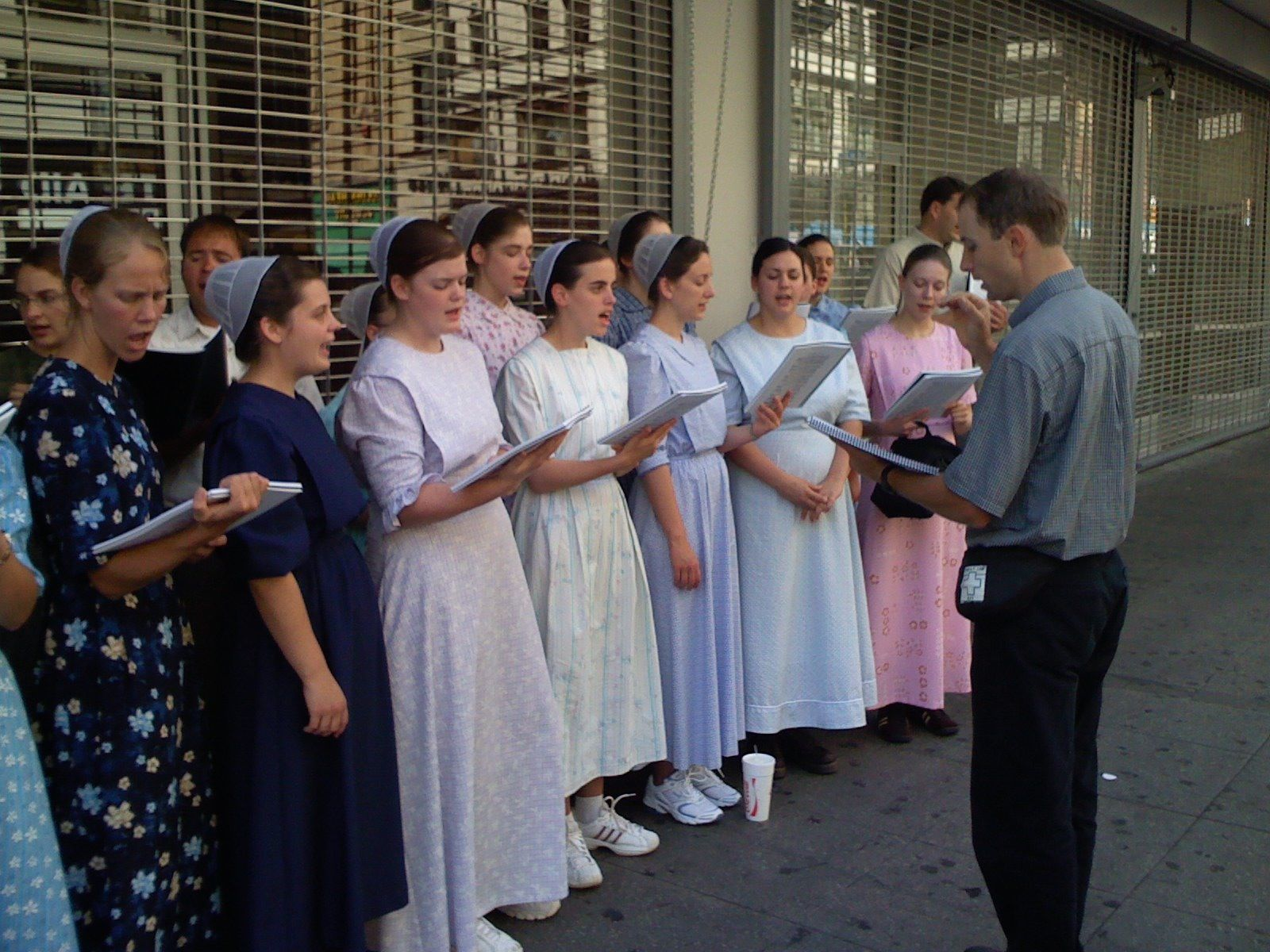 Mennonites are well known for their love of singing