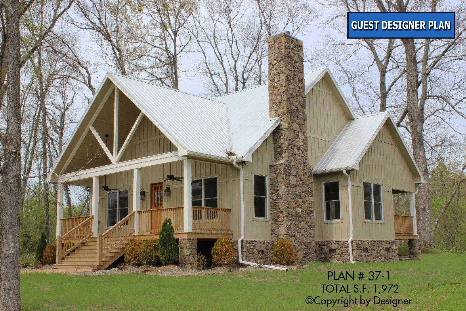 House Plan 37 1 Vtr Garrell Associates Inc Rustic House Plans House Exterior Farmhouse Plans