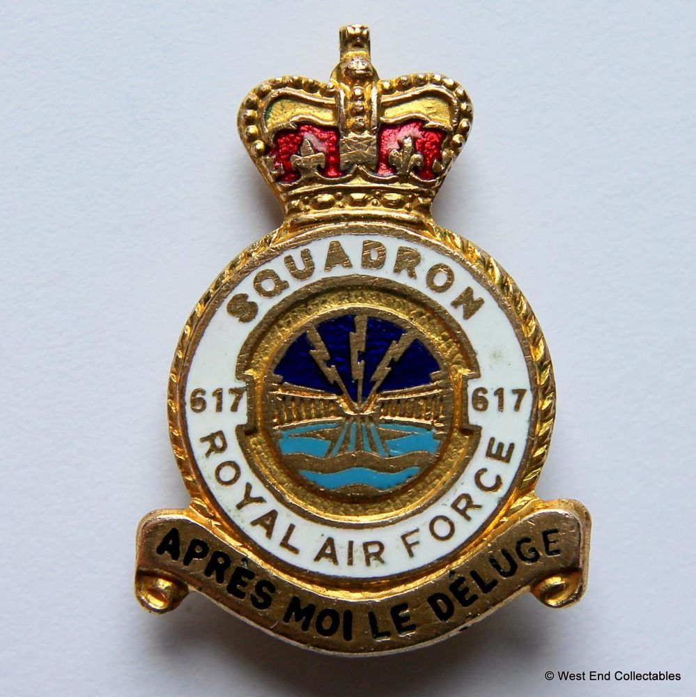 """Royal Air Force Embroidered Blazer Badge 3"""" Patch"""