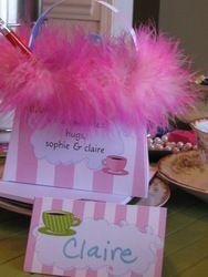 Fondue Tea Party - Chic Dress-Up Tea Party