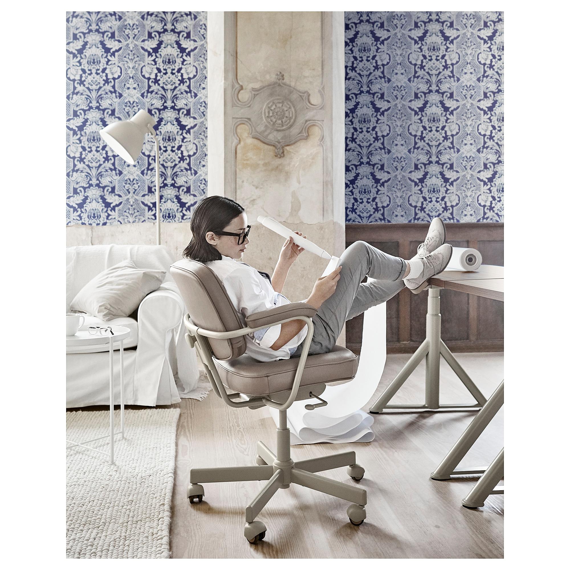 ALEFJÄLL Drehstuhl Grann beige | Products in 2019 | Ikea