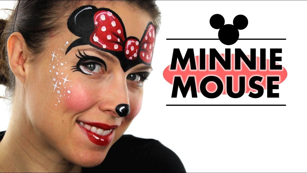 minnie mouse face painting ashlea henson face painting. Black Bedroom Furniture Sets. Home Design Ideas