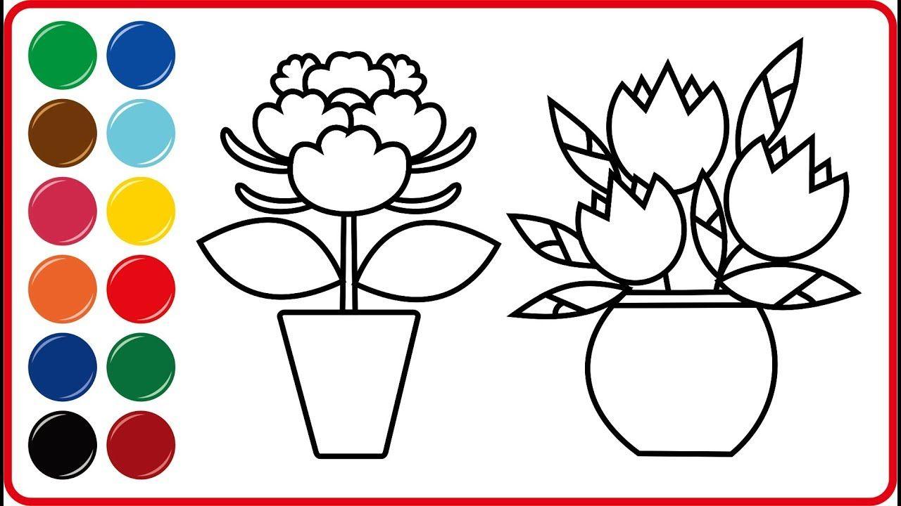 Menggambar Bunga