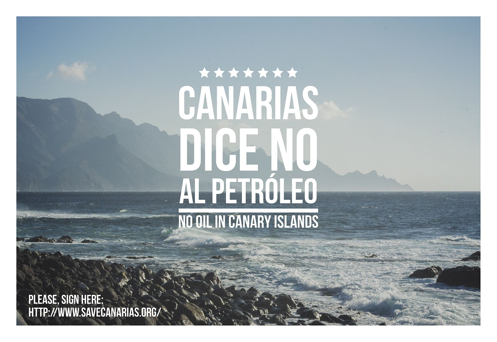 Please, sign here: http://www.savecanarias.org/