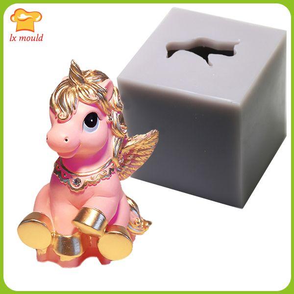 Cartoon Unicorn Mold