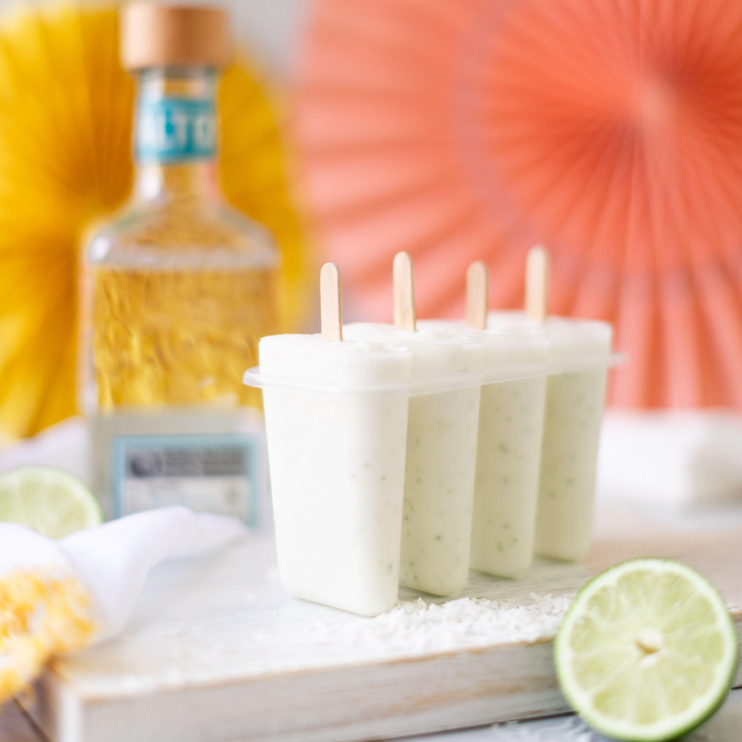Tequila Lime Margarita Popsicles - Jillian Harris
