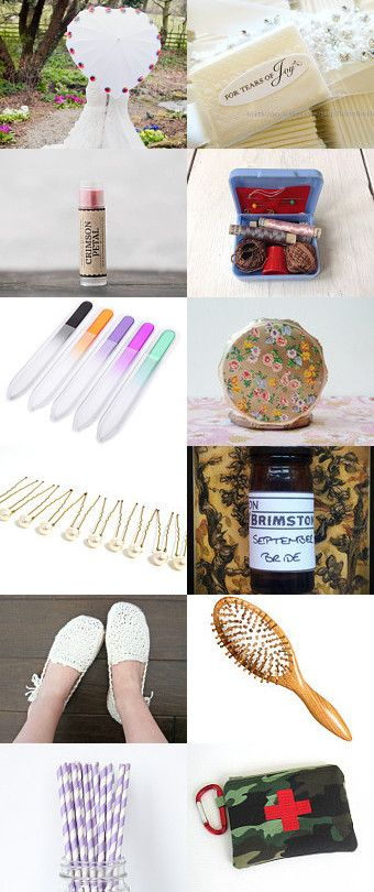 Emergency Wedding Kit by Beth Paton on Etsy--Pinned with TreasuryPin.com