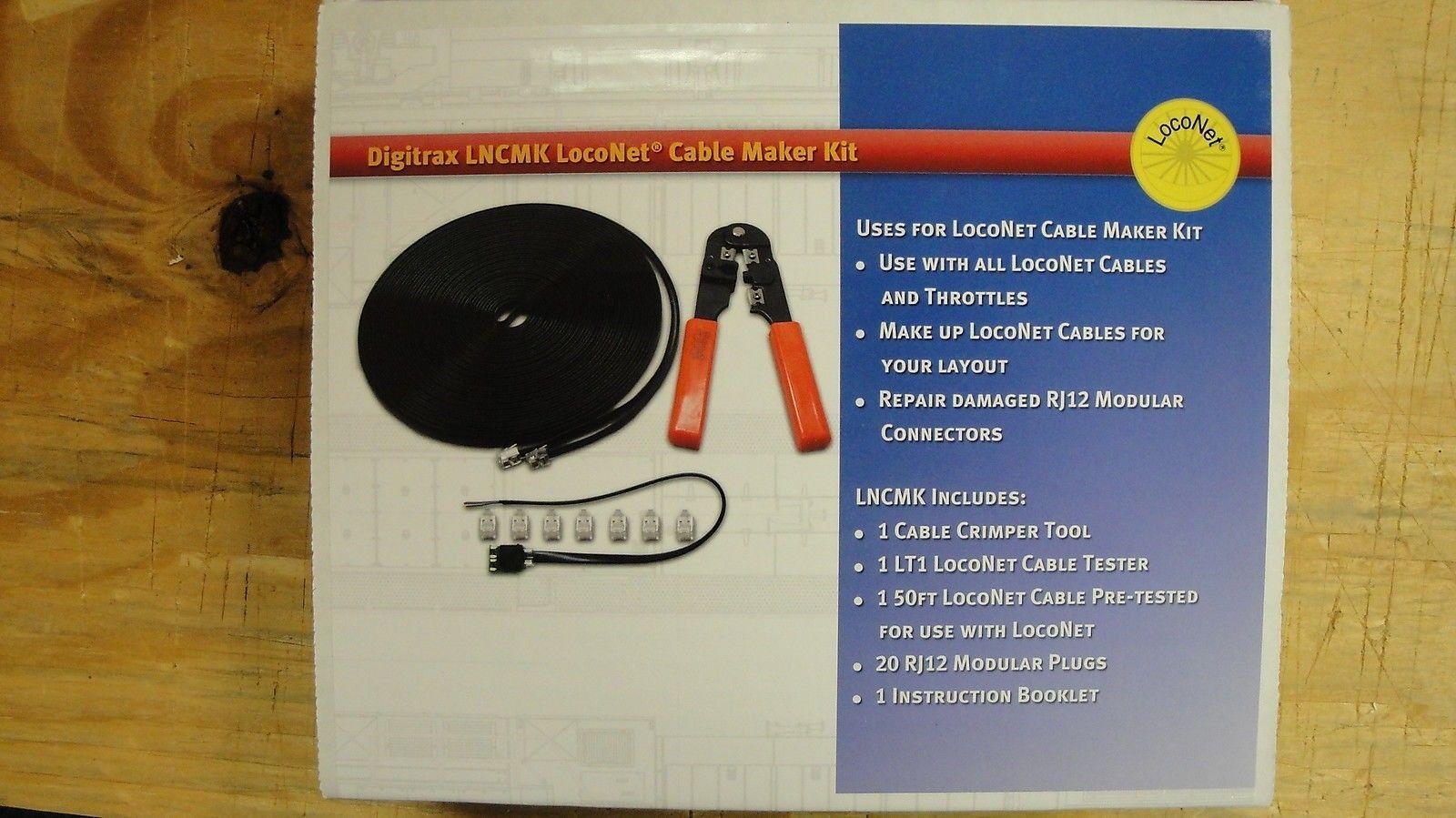 Digital Control Devices 158704 Digitrax Lncmk Lncmk Loconet Cable Maker Kit Yankeedabbler Buy It Now Only Kit Digital Cable