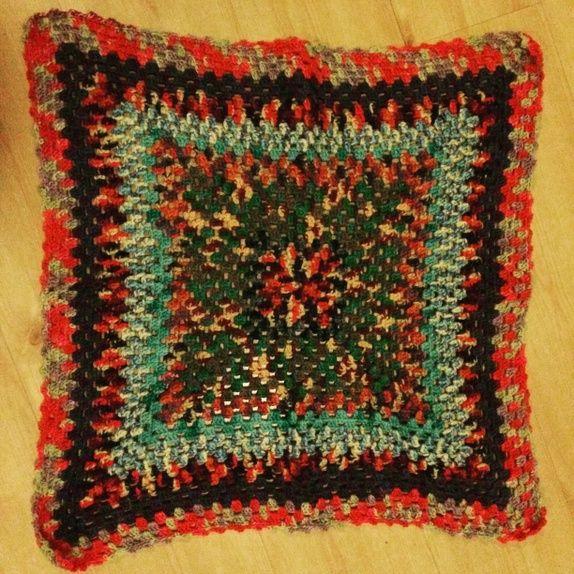 Photo of Crochet baby blanket.