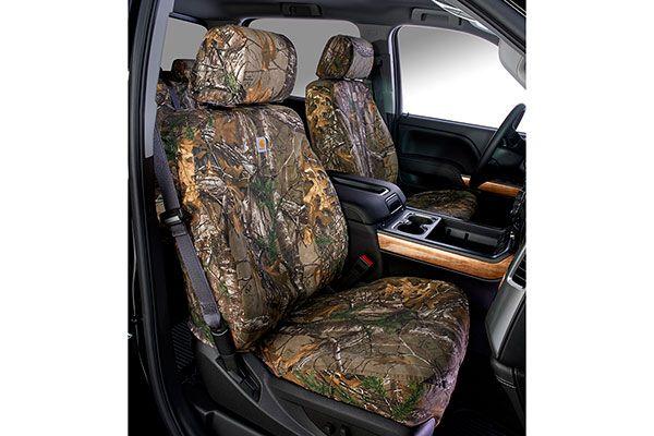 Carhartt RealTree Camo Canvas Seat Covers