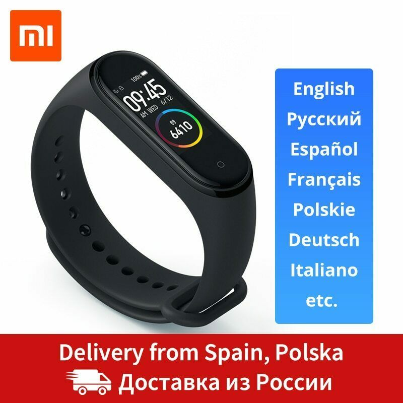 Details About Xiaomi Mi Band 4 Smart Band 0 95inch Amoled 120x240 Full Color Screen Bluetooth Smart Band Xiaomi Smart Bracelet