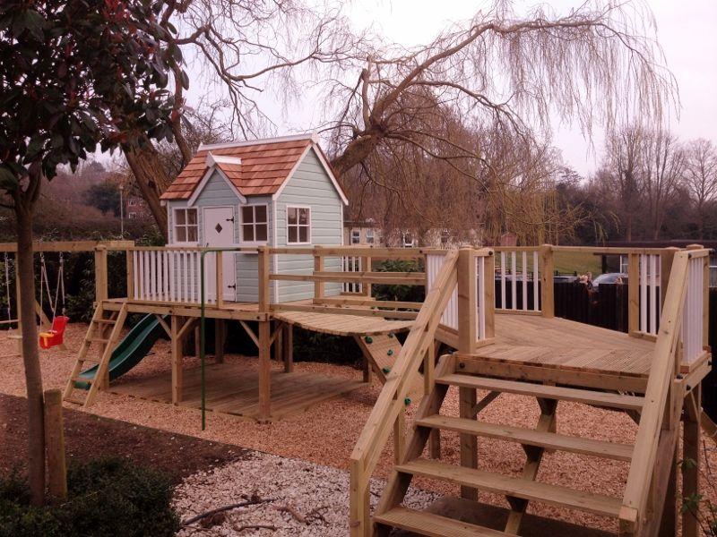 Bespoke playhouses and custom climbing frames | Climbing frames ...