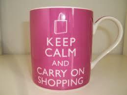 La tasse accro du shopping qu'il nous faut absolument ! #shopping #humour #fun #fashionvictim #Confessionsduneaccrodushopping #sophiekinsella #kinsella #accroshopping #laccrodushopping #pocket  #becky #lecture