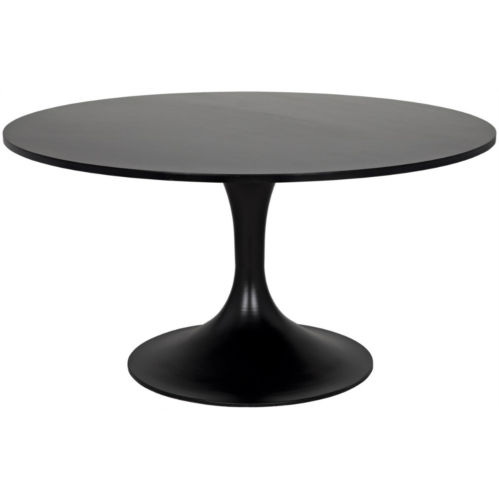 Herno Table Metal Dining Tables Noir With Images Metal
