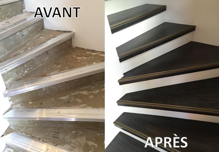 nez de marche antidrapant escalier bois best nez de marche coller grand modle avec grille alu. Black Bedroom Furniture Sets. Home Design Ideas