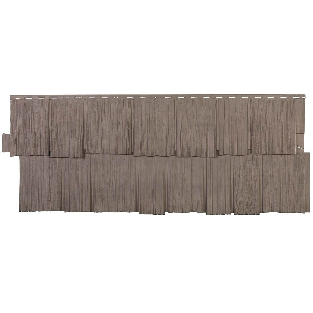Novikshake Hs Hand Split Shake In Weathered Blend 49 36 Square Feet Box Vinyl Siding Vinyl Siding Panels Shake Siding