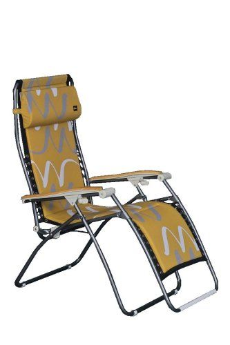 CLICK IMAGE TWICE FOR UPDATED PRICING AND INFO) #chairs #outdoorchairs #poolchairs #loungechairs #outdoorreclinerchair #patio #pool #outdoor SEE MORE patio lounge chairs at http://zpatiofurniture.com/index.php?cat=1716=meta_value=price=asc  Faulkner Country Gold Padded Recliner with Speckled Frame, Extra Large « zPatioFurniture.com