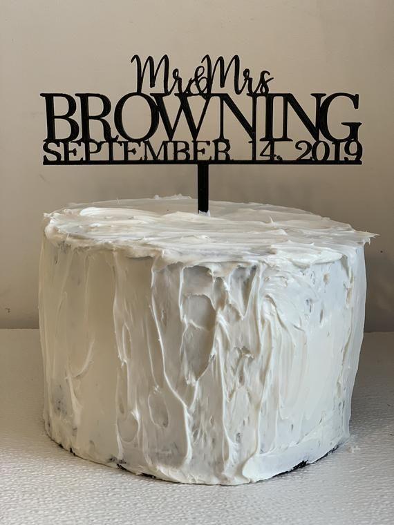 Cake Topper Mr Wedding Cake Decoration 3D Print /& Mrs