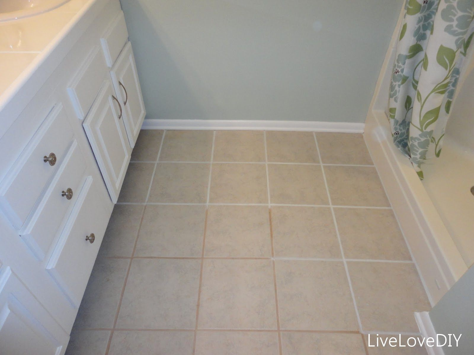 Grout Paint Restoration If You Like The Look Of Your Tile Floors