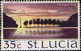 St Lucia 1970 SG 285 Marigot Bay Fine Used SG 285 Scott 270 Condition Fine Used Only one post charge applied on multiple purchases Details N B With