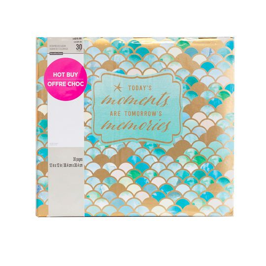buy the mermaid scrapbook album by recollections at
