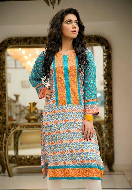 New Fashion Pakistani Dresses 2015